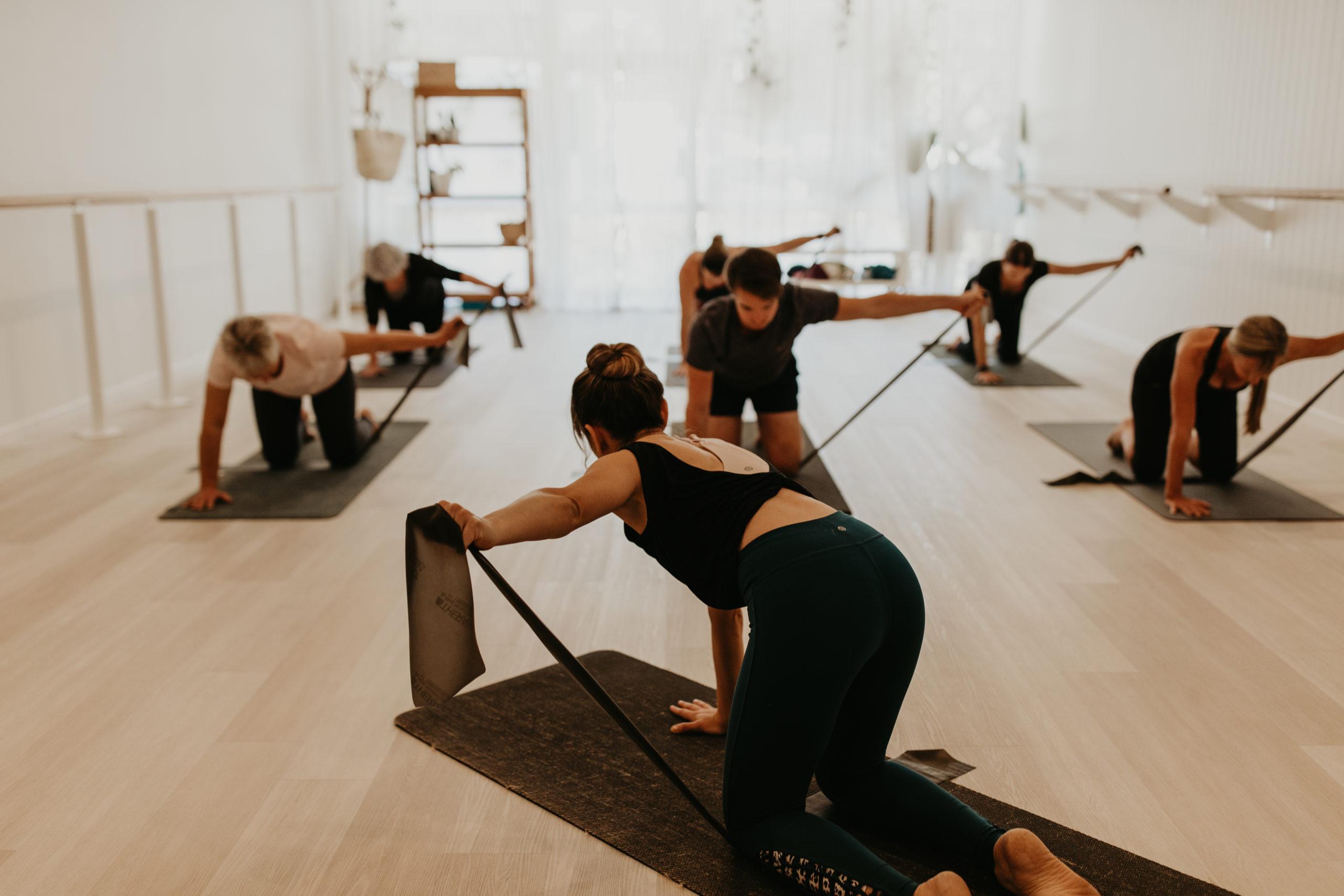 pilates buderim haven yoga barre studio class