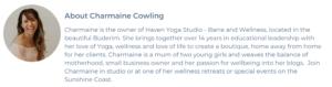 charmaine cowling blog wellness retreats sunshine coast smiling woman