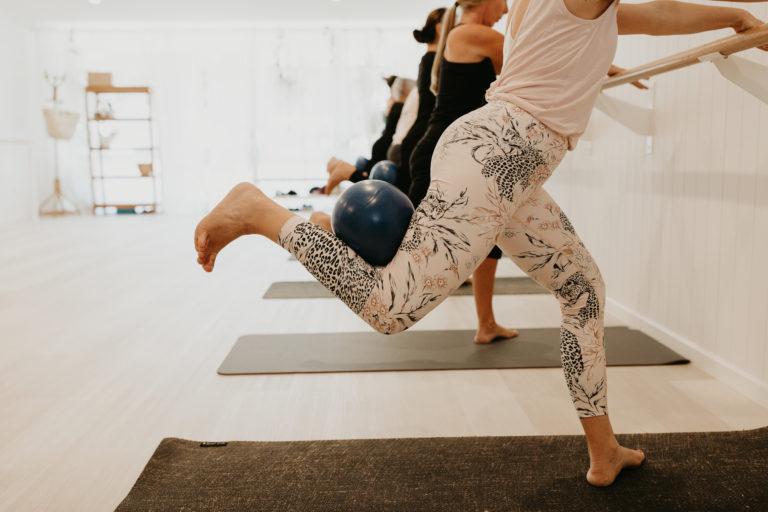 Barre Buderim yoga mat