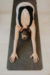 haven yoga barre studio buderim sunshine coast woman yoga mat