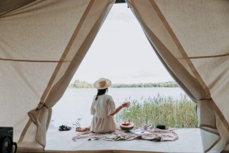 Yoga wellness retreat qld camping outdoors