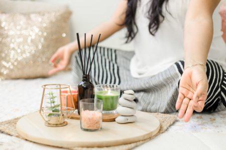 luxury yoga retreat wellness qld woman meditation
