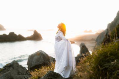 luxury yoga wellness retreat qld woman cliff transformation