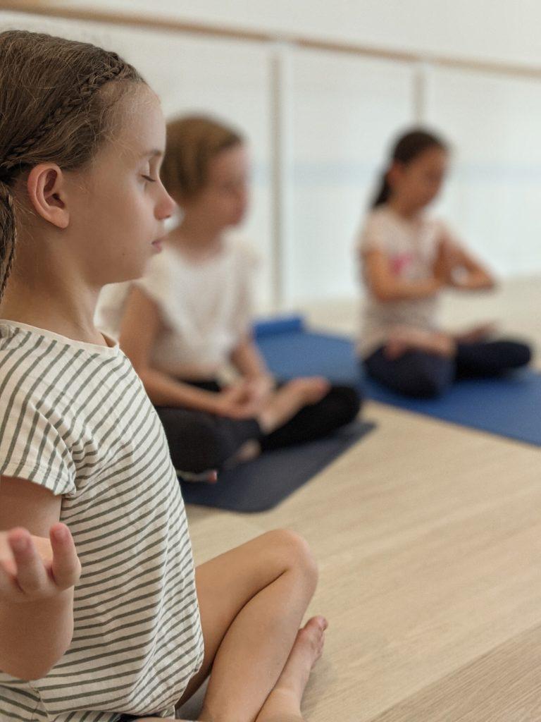 haven yoga barre kids yoga class buderim